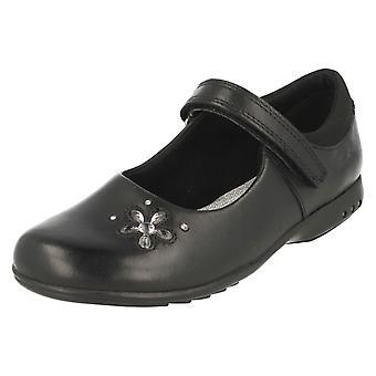 Mädchenschule Clarks Schuhe mit Licht TrixiCandy