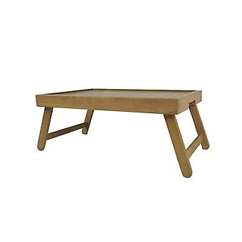 Penguin Home Bed Tray Table with Legs-Crafted in Solid Hardwood