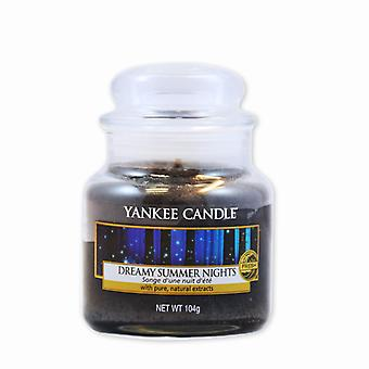 Yankee Candle Classic Small Jar Dreamy Summer Nights Bougie 104g