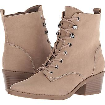 Indigo Rd. Womens Yarine Fabric Almond Toe Ankle Fashion Boots