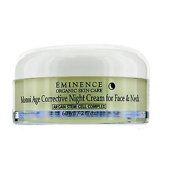 Eminencia Monoi Age Corrective Night Cream For Face & Cuello - Para piel normal a seca especialmente madura - 60ml/2oz