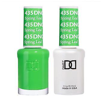 Dnd Duo Gel & Nail Polish Set - Spring Leaf 435 - 2x15ml