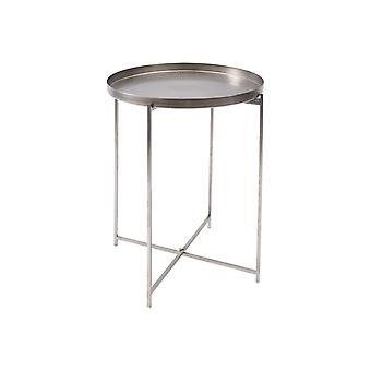 Libra Furniture Tray Style Iron Side Table