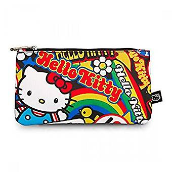 Pencil Case - Hello Kitty - Stickers Stationery Pouch Bag Licensed sancb0630