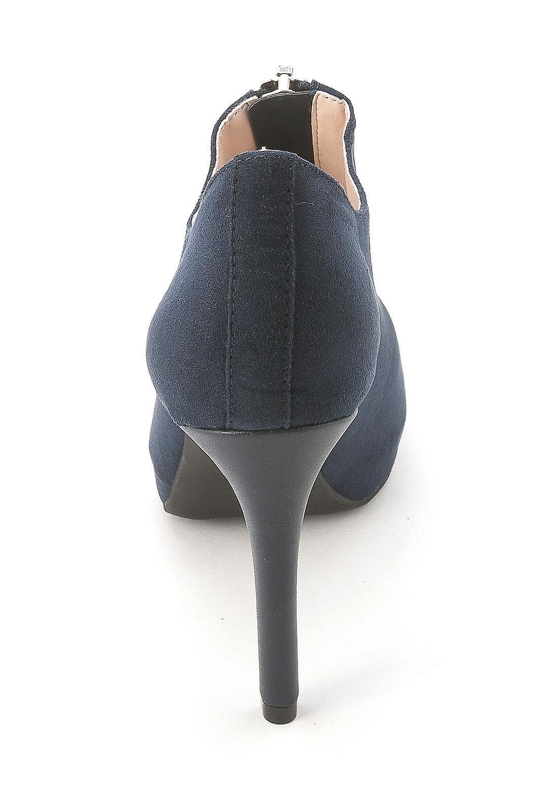 Bar III Womens CARINE Leather Cap Toe Classic Pumps