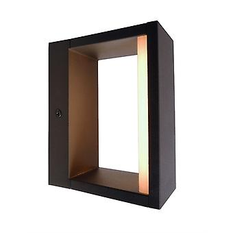 LED exterieur wand lamp Cata antraciet 60x150mm 3000K 6W