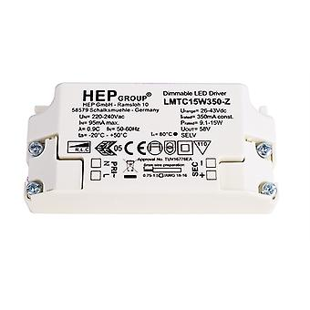 Kapego Power Supply 862068 LMTC15W350-Z 15W 26-43V DC Current Constant Dimmable IP20