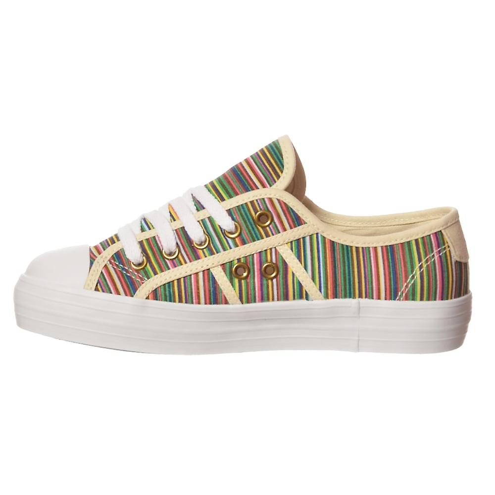 Rocket Dog Magic CanvASS platte Lace up lage top sneakers V4tc7k