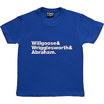 Servizio Pubblico Radiodiffusione Line-Up Royal Blue Kids ' T-Shirt