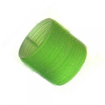 Hair tools cling rollers jumbo green 61mm x6