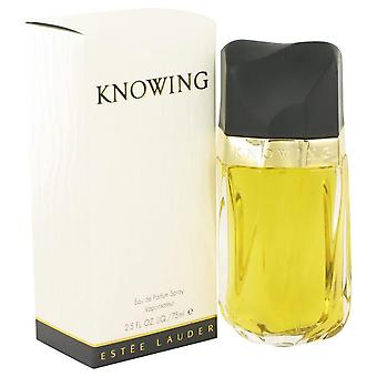 Knowing eau de parfum spray by estee lauder 417907 75 ml