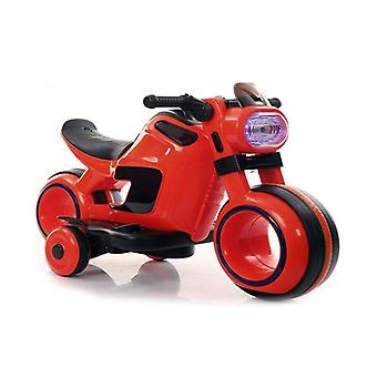 Children's electric motorcycle Jupiter SMT-998 LED light, music function horn from 3 years