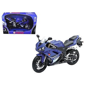2008 Yamaha YZF-R1 Blue Motorcycle Model 1/12 par New Ray