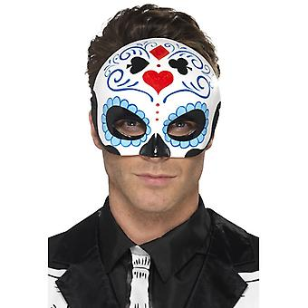 Day of the Dead Herren Spielkarten Augen Maske Halbmaske Mexiko Halloween
