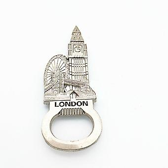 UK London Flaskeåbner med miniature Big Ben & øje symboler