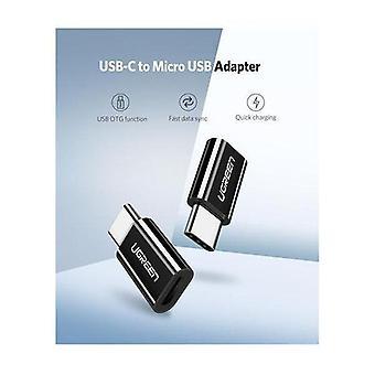Ugreen USB 3.1 Type-C naar Micro USB Adapter ABS case Zwart 30865
