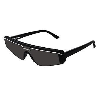 Balenciaga BB0003S 001 النظارات الشمسية السوداء / الرمادية