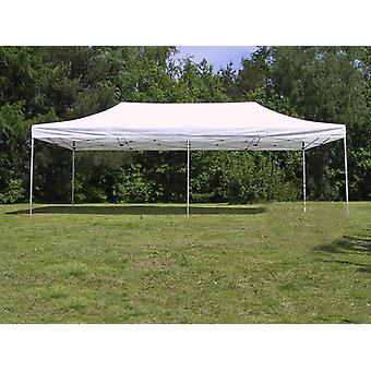 Snabbtält FleXtents Steel 4x8m Vit
