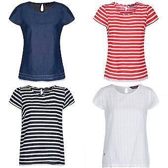 ريجاتا النساء / السيدات Jakayla Coolweave قميص الأكمام القصيرة