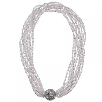 Nour London Multi Strand Magnetic Clasp Necklace