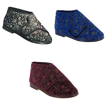 GBS Bella Ladies Wide Fit Slipper / Womens Slippers