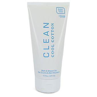 Clean Cool Cotton Shower Gel Door Clean 6 oz Douche Gel
