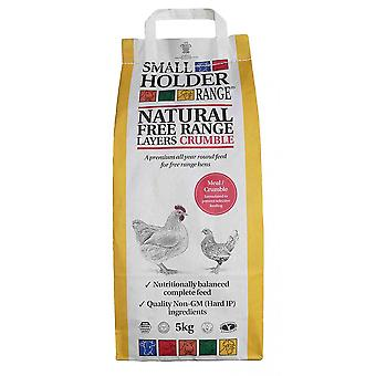 Allen & Page naturliga fri räckvidd Layer Meal crumble Hen mat