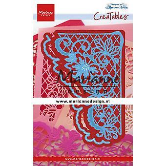 Marianne Design Creatables Cutting Dies - Anja's Flower Corner LR0642