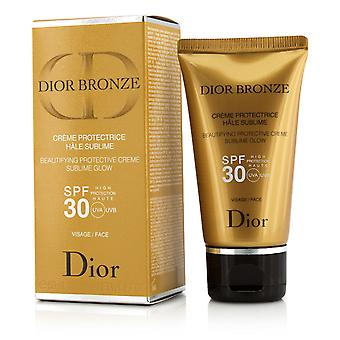 Dior bronse beautifying beskyttende creme sublime glød spf 30 for ansikt 204012 50ml/1.7oz