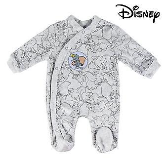 Baby's Long-sleeved Romper Suit Disney 74613 Grey