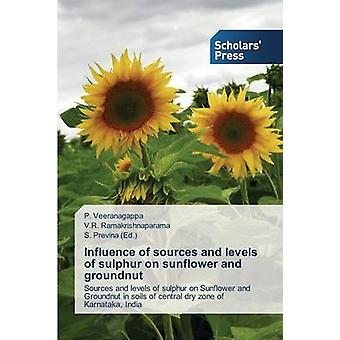 Influence of sources and levels of sulphur on sunflower and groundnut by Veeranagappa P.