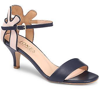 Jones Bootmaker Grace Heeled Leather Sandal