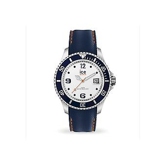 Ice Watch - Armbanduhr - Unisex - ICE steel - White blue - Large - 3H - 016772