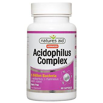 Nature's Aid Acidophilus Complex 5 Billion Capsules 60 (126420)