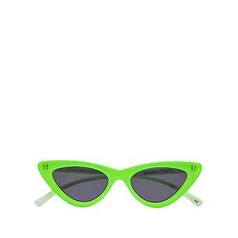 Adam Selman X Le Specs Women's The Last Lolita Neon Lime Sunglasses