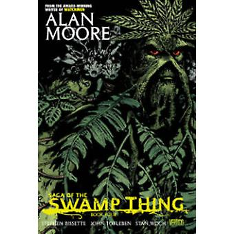 Saga Of The Swamp Thing Book Four by Stephen Bissette