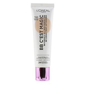 L'oreal Bb C'est Magic Bb Cream 5 في 1 Perfector Skin - # متوسط الضوء - 30ml/1oz