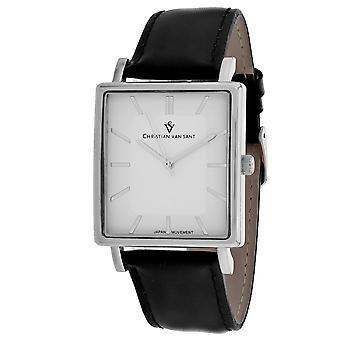 Christian Van Sant Men's Ace White Dial Uhr - CV0430
