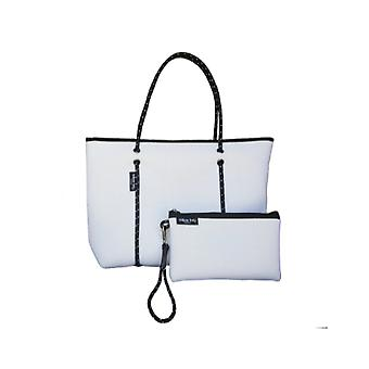 WILLOW BAY AU BOUTIQUE Neopreen Tote Bag - WIT