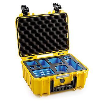B&W Osmo Case Typ 3000 für DJI Osmo Action, Gelb
