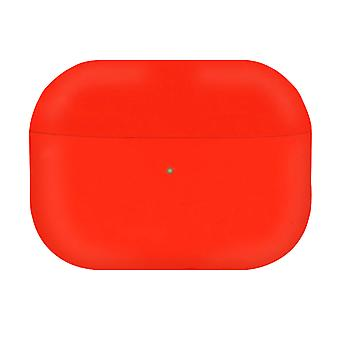 AirPods Pro Silicone Case Soft-touch Matt Effect Wireless Charging- Red