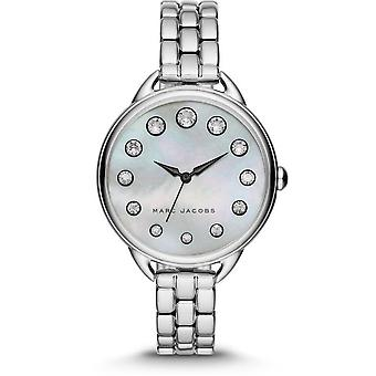 Marc Jacobs MJ3508 Betty White Mother Of Pearl Dial Ladies Watch