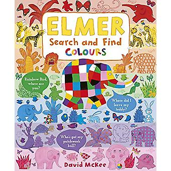 Elmer Search and Find Colours by David McKee - 9781783449743 Book