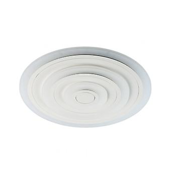 Techno White Ceiling Light Height 4.5 Cm