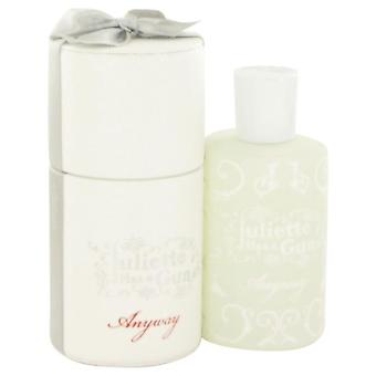 Anyway Eau De Parfum Spray By Juliette Has a Gun 3.3 oz Eau De Parfum Spray