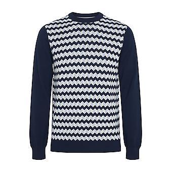 Merc Men striking Chevron jacquard Knitwear DELTA