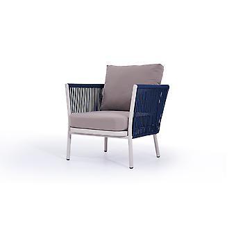 Touw fauteuil Marina - marine