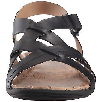Naturalizer mujeres wyla cuero Open Toe tobillo correa sandalias casuales