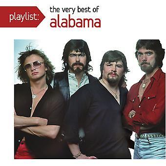 Alabama - Playlist: The Very Best of Alabama [CD] USA import