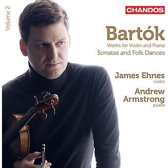 B. Bartok - Bart K: Works for Violin and Piano [CD] USA import